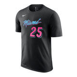 Kendrick Nunn Nike Miami HEAT Vice Nights Name & Number Tee - 1