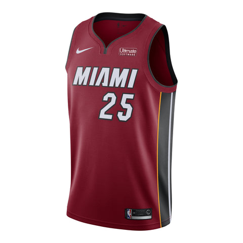 Kendrick Nunn Nike Miami HEAT Statement Red Swingman Jersey