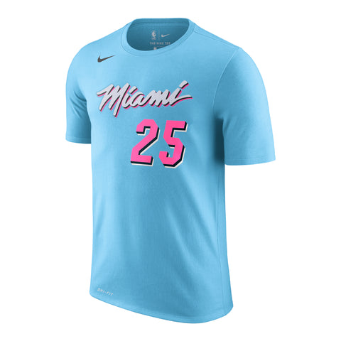 Kendrick Nunn Nike Miami HEAT ViceWave Name & Number Tee