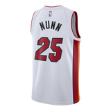 Kendrick Nunn Nike Miami HEAT Association White Swingman Jersey - 2