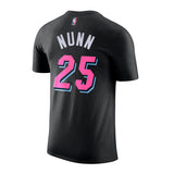 Kendrick Nunn Nike Miami HEAT Vice Nights Name & Number Tee - 2