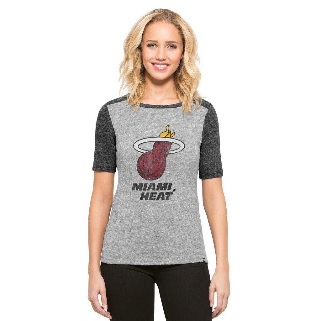 '47 Brand Miami HEAT Ladies Empire Scrum Tee - featured image