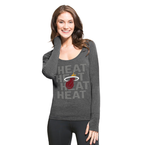 47' Miami HEAT Ladies Long Sleeve Forward Tee