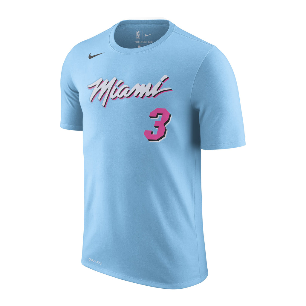 Dwyane Wade ViceWave Youth Name and Number Tee - featured image