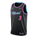 Dwyane Wade Nike Miami HEAT Vice Nights Swingman Jersey - 1