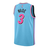 Dwyane Wade Nike Miami HEAT ViceWave Youth Swingman Jersey - 2