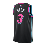 Dwyane Wade Nike Miami HEAT Vice Nights Swingman Jersey - 2