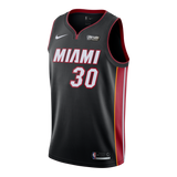 Chris Silva Nike Miami HEAT Youth Icon Black Swingman Jersey - 1