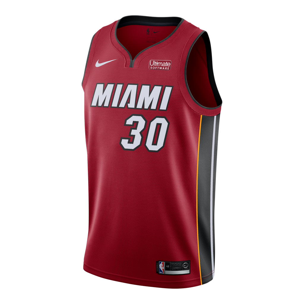 Chris Silva Nike Miami HEAT Youth Statement Red Swingman Jersey - featured image