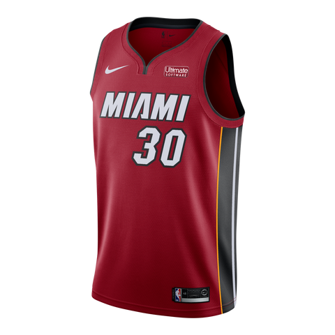 Chris Silva Nike Miami HEAT Youth Statement Red Swingman Jersey