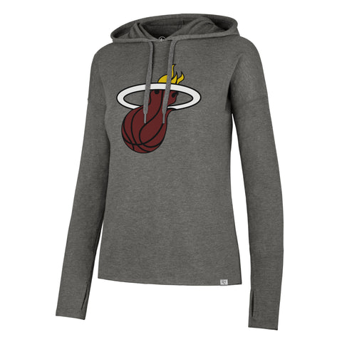 '47 Brand Miami HEAT Ladies Energy Lite Hoodie