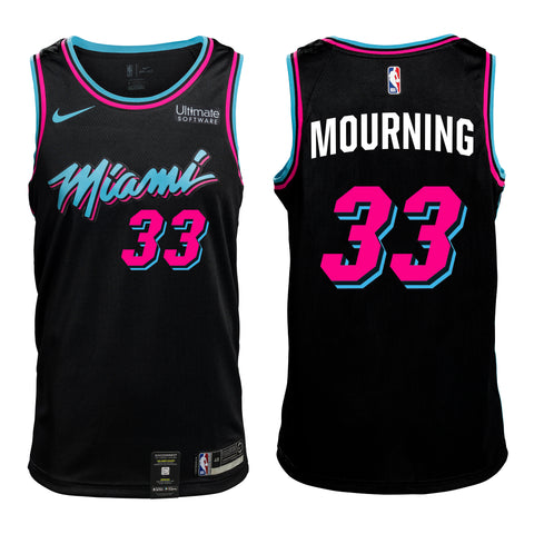 Alonzo Mourning Vice Nights Swingman Jersey
