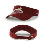 '47 Miami HEAT Ladies Sparkle Adjustable  Visor - 2