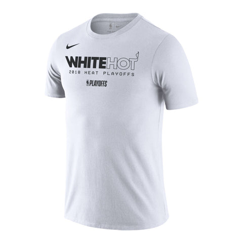 new style 95c4d 49f85 Nike White Hot Playoffs Tee