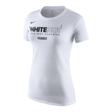 Nike Ladies White Hot Playoff Tee - 1