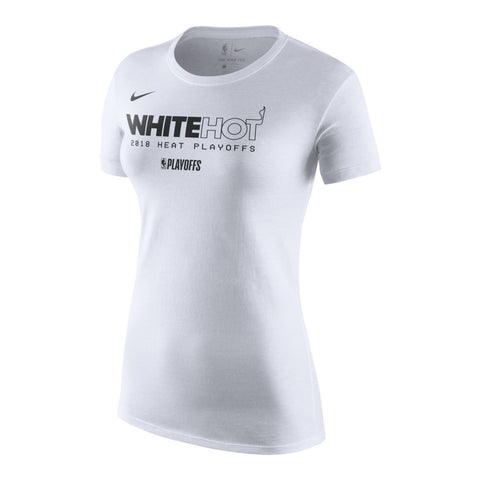 Nike Ladies White Hot Playoff Tee
