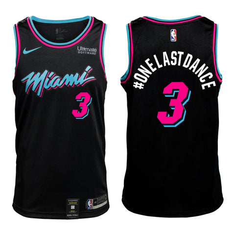 e446a4cd970 Custom Nike Miami HEAT Youth Vice Nights Swingman Jersey  95.00.  3  ONELASTDANCE Personalized Vice Jersey Youth