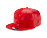 Court Culture #3 Wade Leather Snapback - 3