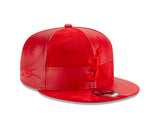 Court Culture #3 Wade Leather Snapback - 4