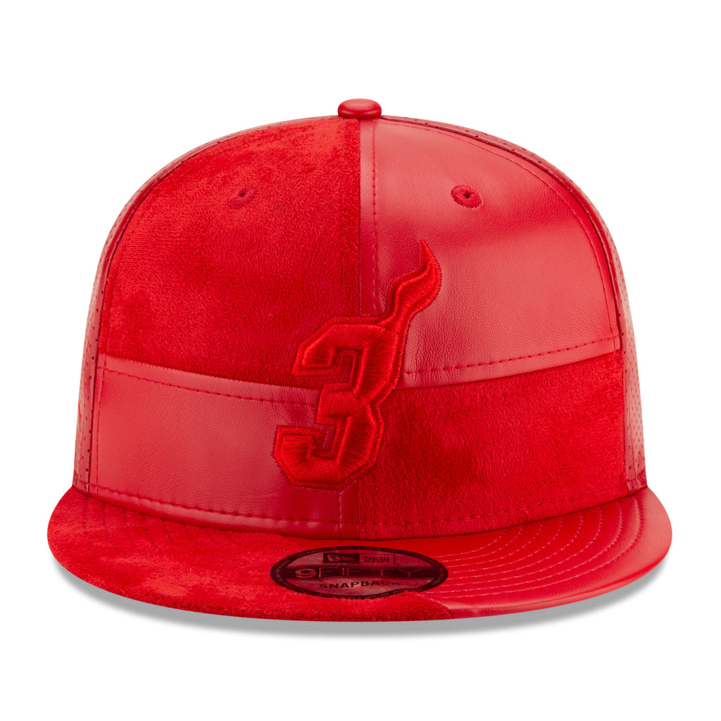 Court Culture #3 Wade Leather Snapback - featured image