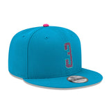New ERA #3 Dwyane Wade Blue Snapback - 4