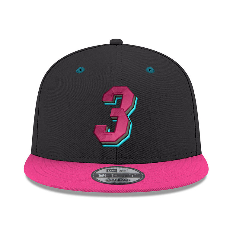 New ERA #3 Dwyane Wade Black Snapback - featured image