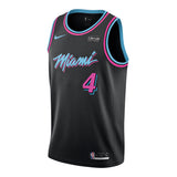 KZ Okpala Nike Miami HEAT Vice Nights Swingman Jersey - 1