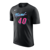 Udonis Haslem Nike Miami HEAT Vice Nights Name & Number Tee - 1
