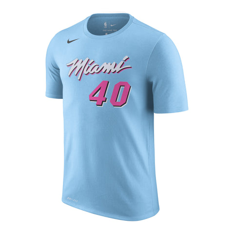 Udonis Haslem Nike Miami HEAT Youth ViceWave Name & Number Tee