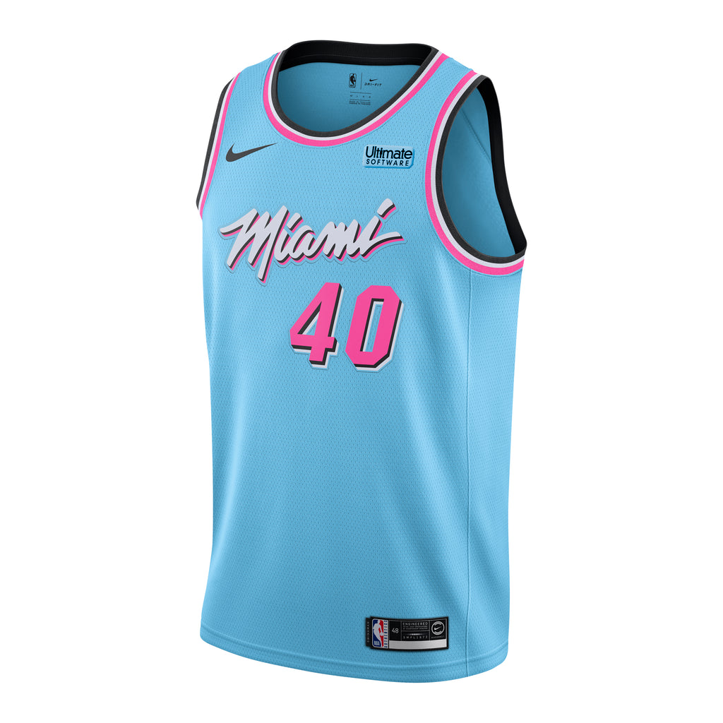 Udonis Haslem Nike Miami HEAT ViceWave Youth Swingman Jersey - featured image