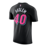 Udonis Haslem Nike Miami HEAT Vice Nights Name & Number Tee - 2