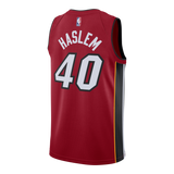 Udonis Haslem Nike Miami HEAT Youth Statement Red Swingman Jersey - 2