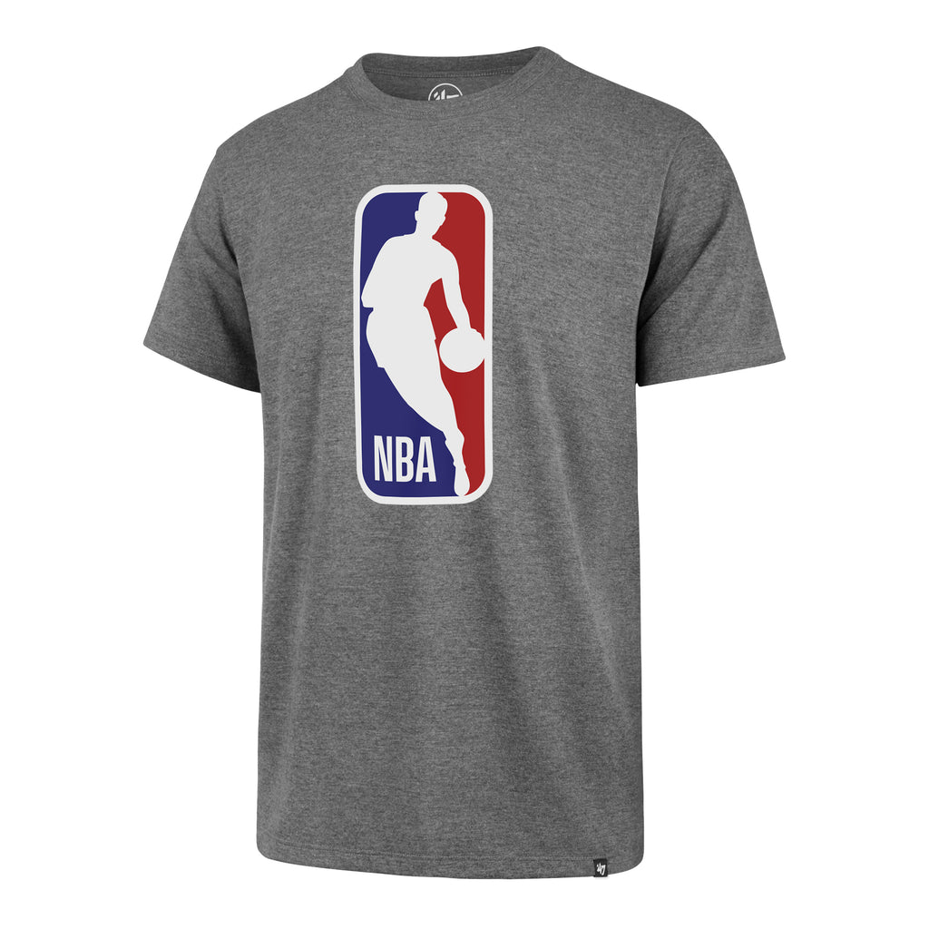 '47 Brand NBA Logo Tee Grey - featured image
