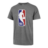 '47 Brand NBA Logo Tee Grey - 1