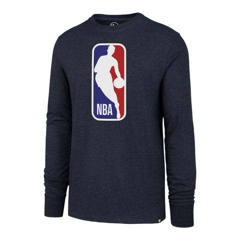 '47 Brand Long Sleeve NBA Logo Tee