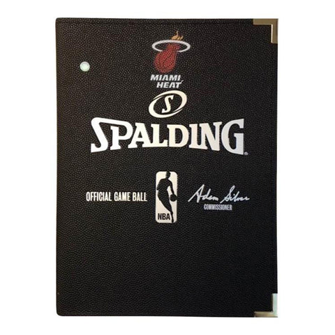 Spalding Miami HEAT Pebbled Notebook