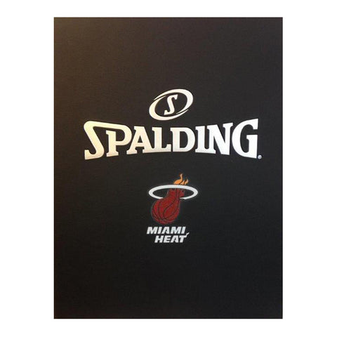 Spalding Miami HEAT Smooth Notebook