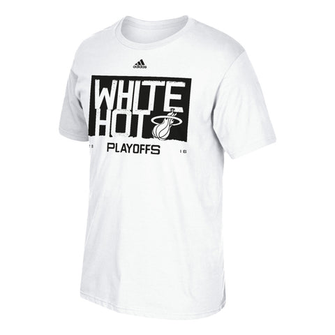 adidas Miami HEAT Youth 2016 White Hot T-Shirt