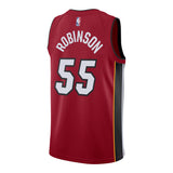 Duncan Robinson Nike Miami HEAT Statement Red Youth Swingman Jersey - 2