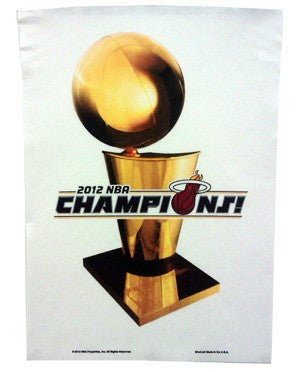 Miami HEAT 2012 NBA Champions Banner - featured image