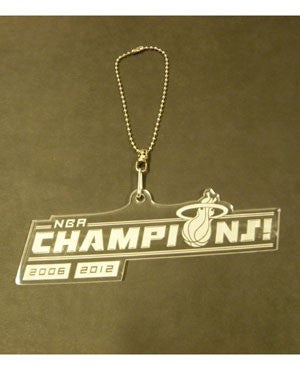 Miami HEAT Champ Logo Rider