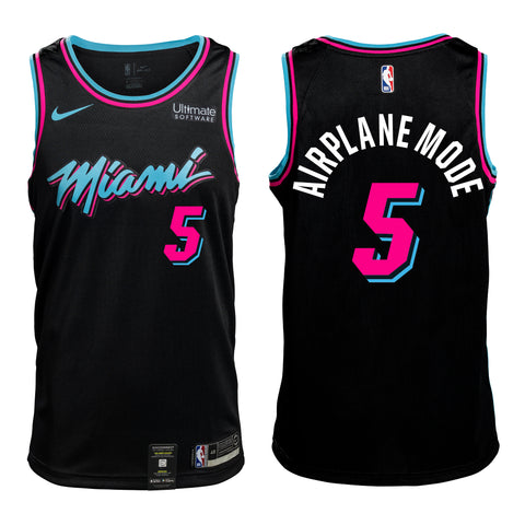 #5 AIRPLANE MODE Personalized Vice Jersey Youth