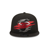 New Era HEAT Logo Tear Youth Snapback - 1