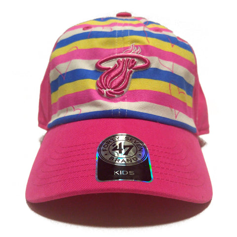 '47 Miami HEAT Youth Brite Cleanup Hat