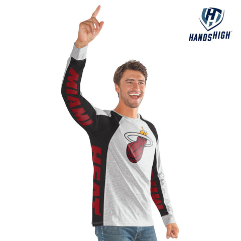 GIII Miami HEAT Long Sleeve Hands High Switch