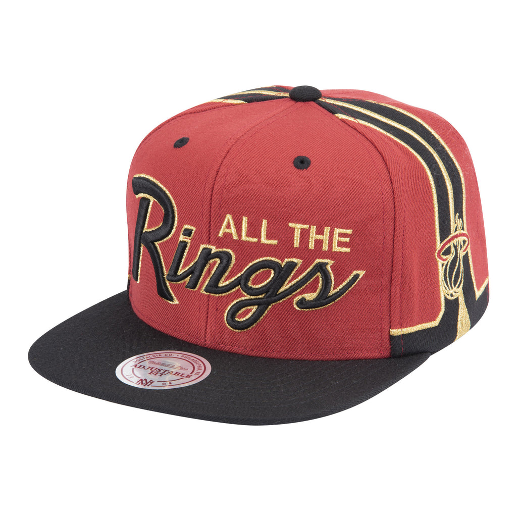Mitchell & Ness Rings VIP Snapback - featured image