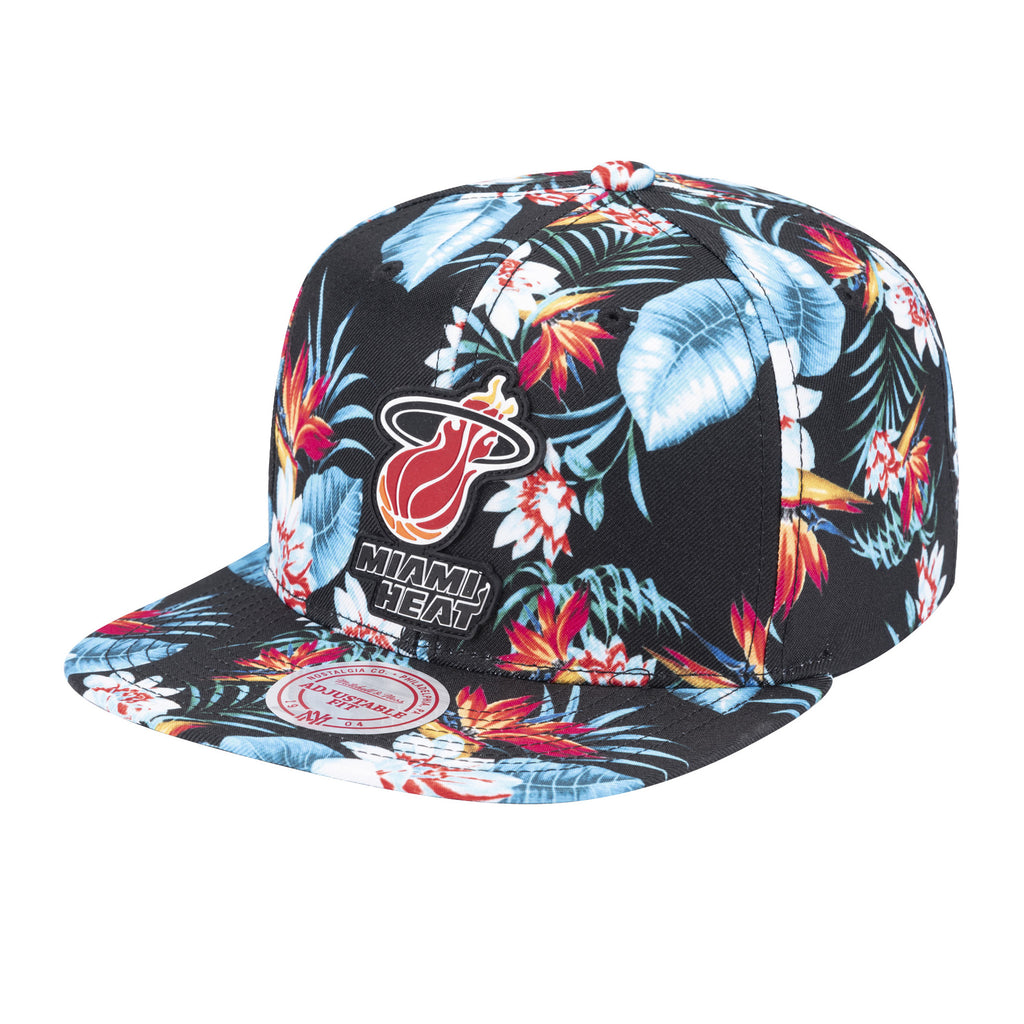 Mitchell & Ness Break Floral Snapback - featured image
