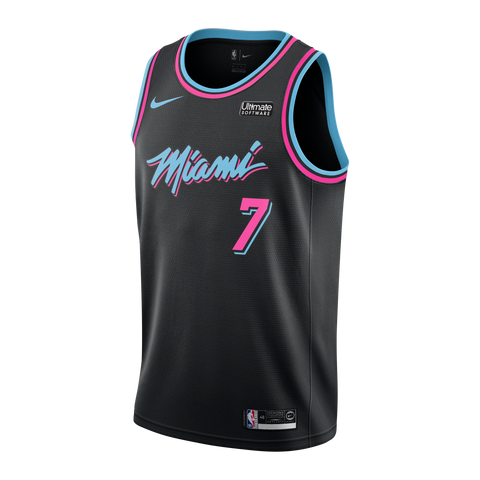 Goran Dragic Nike Miami HEAT Vice Nights Swingman Jersey