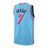 Goran Dragic Nike Miami HEAT ViceWave Swingman Jersey - 2