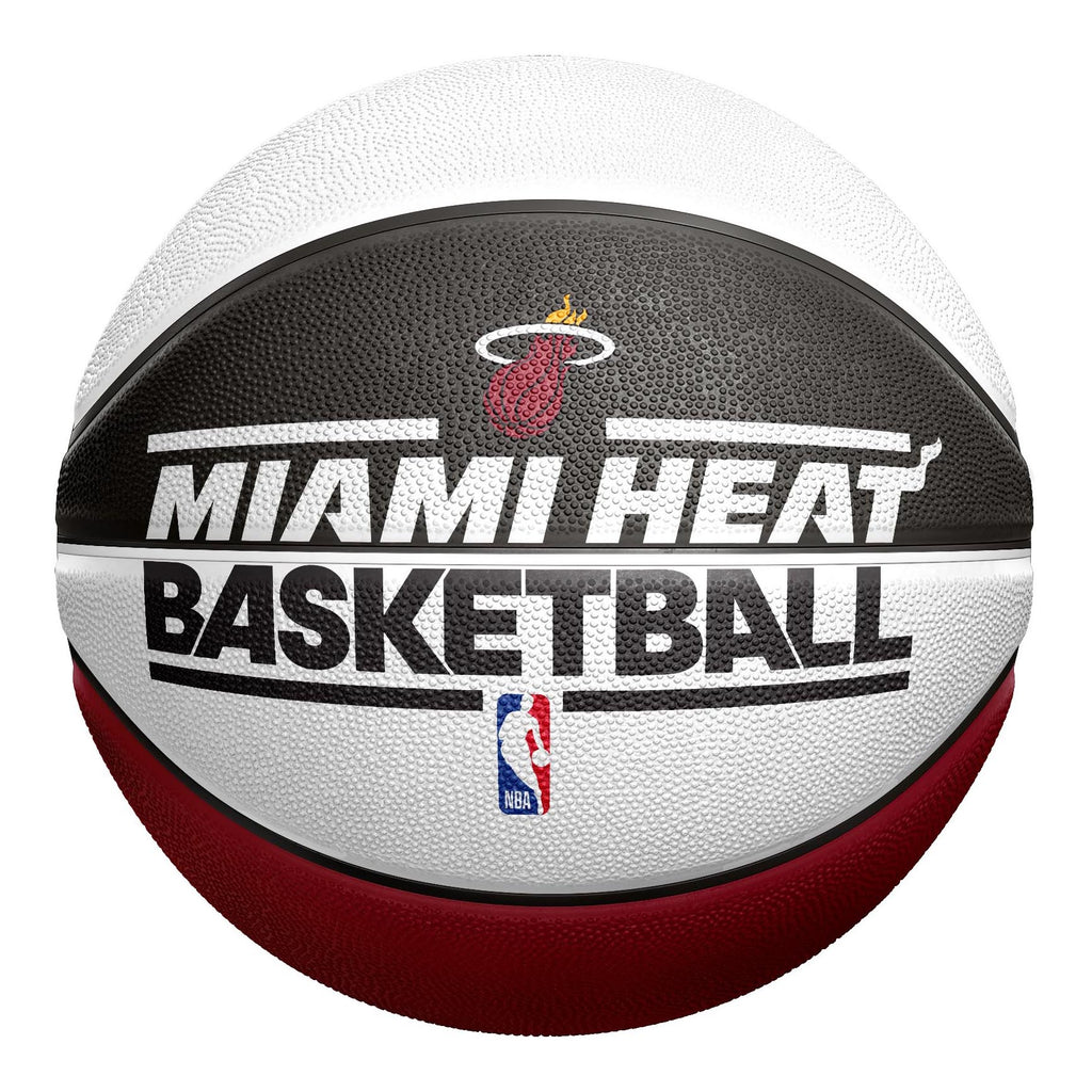 Spalding Miami HEAT Alternating Panel Basketball - featured image